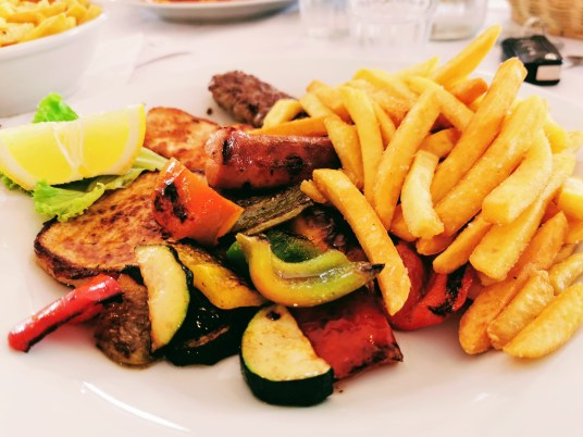 Mixed grill at Ristorante Bucaneve in Passo Lavaz