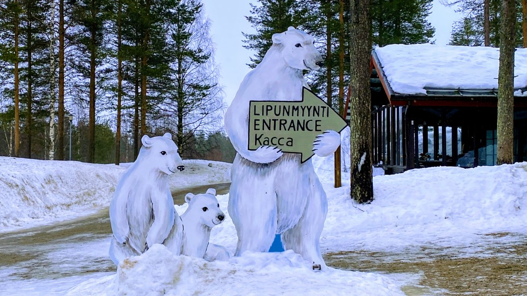 Ranua Zoo in Finnish Lapland