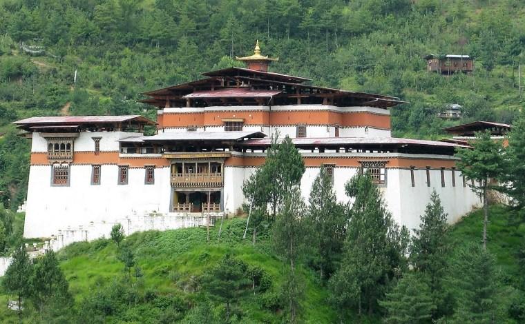 Bhutan Simtokha dzong 001