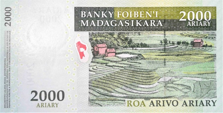 Madagascar 2000 front