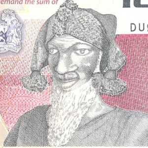 Sierra Leone 1000 Leone 2013 banknote front (2) featuring warrior Bai Bureh