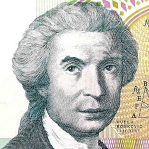 croatia 100000 front (4) featuring Roger Joseph Boscovich, 18th century astronomer, physicist and mathematician