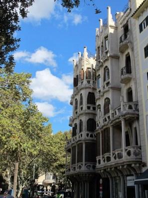 Palma Mallorca and it's amazing architecture.
