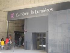 Carrieres de Lumierers Les Baux de Provence, France.