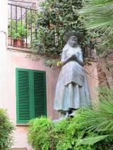 Santa Catalina the patron saint of Valldemossa