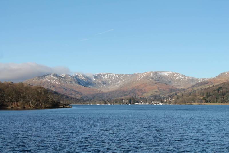 winter lake district