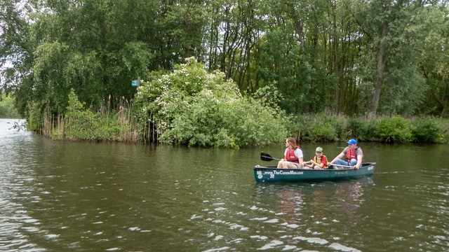 norfolk broads canoe trip