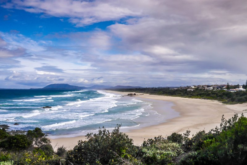 beach at port macquarie