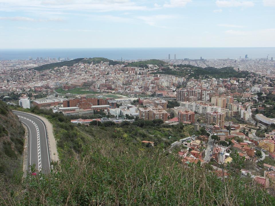 mount tibidabo road