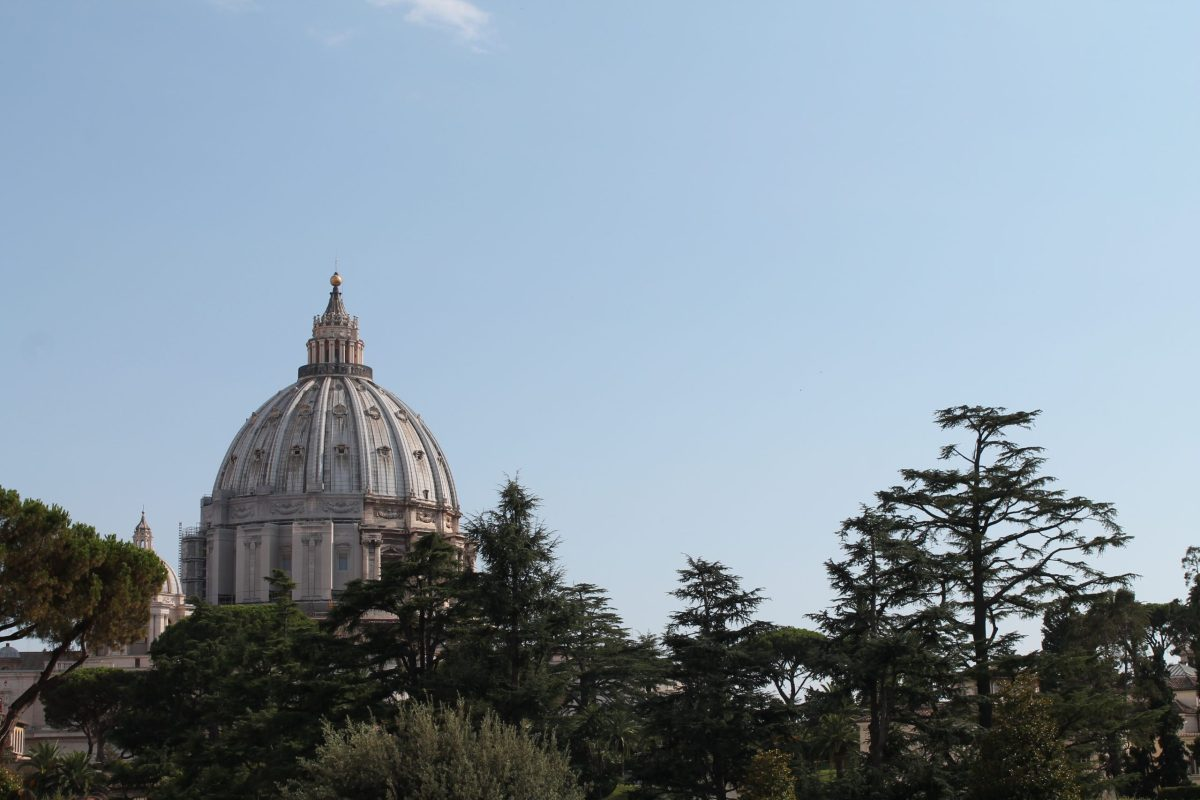 st peter's view from vatican museums