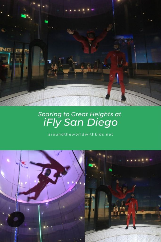 Soaring to Great Heights at iFly San Diego