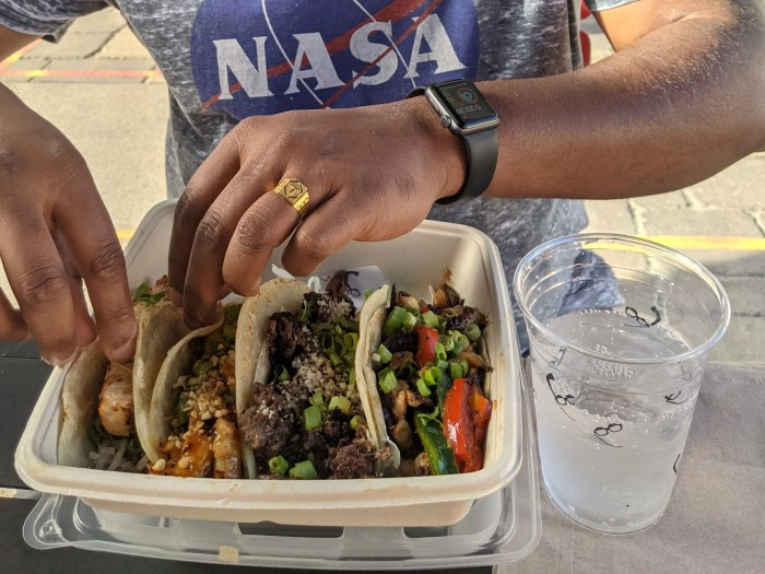 4 unique tacos from Not Not Tacos