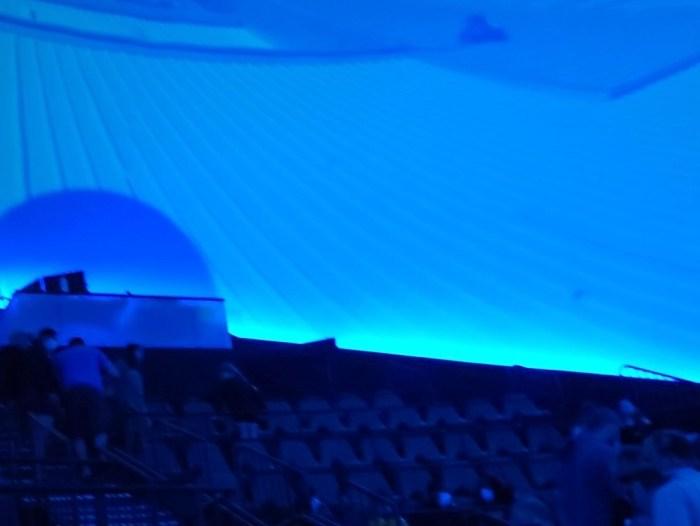 A dome IMAX theather