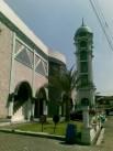 Menara Masjid Al Fajr foto oleh A. Rozak Abuhasan 27-7-2011
