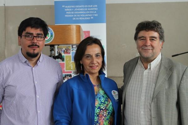 Víctor Berríos, Iris Makin, Patricio Felmer