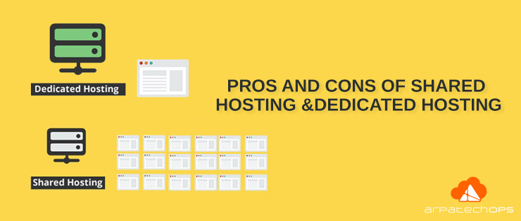 Pros-cons-shared hosting-dedicated-hosting