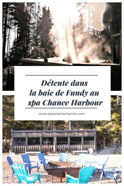 détente spa scandinave fundy chance harbour