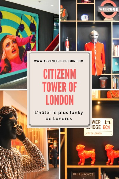 citizenM Tower of London Arpenter le chemin Pinterest v2