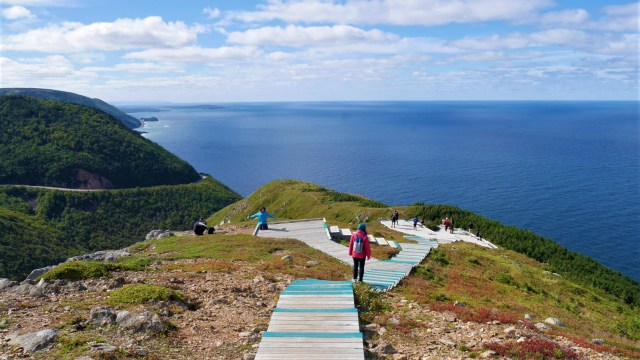 sentier skyline trail cap breton canada randonnee blog voyage arpenter le chemin