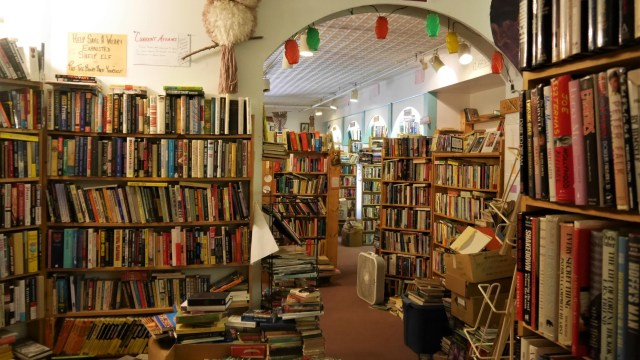 Fredericton Owl's nest bookstore