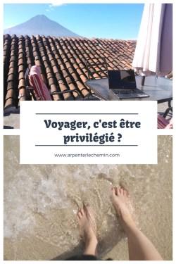 privilege chance voyage blog