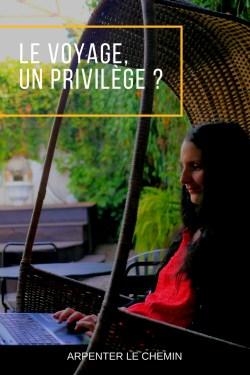voyage privilege chance efforts canada technomade nomade digital