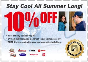 air condition service discount coupon