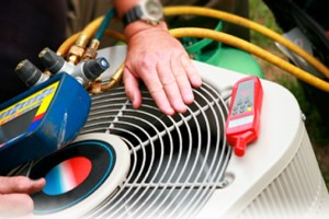 heating and cooling HVAC systems service and repair