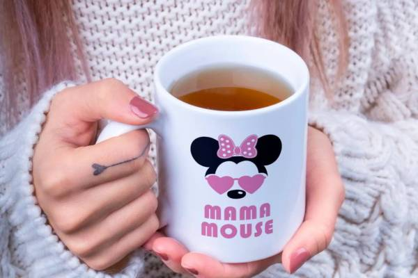 Keramična skodelica Mama Mouse