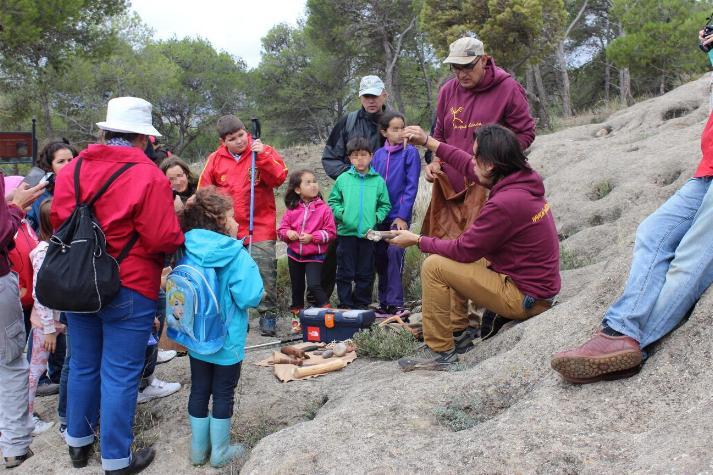 Miércoles 1 de Noviembre: RUTA.La memoria de las rocas,La Prehistoria y la relación con la muerte