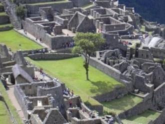 Machu Picchu: Las plazas