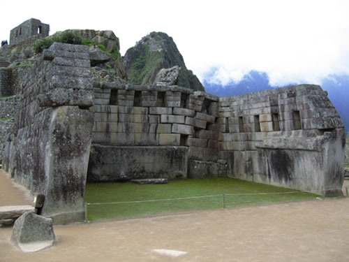Machu Picchu: Templo Principal