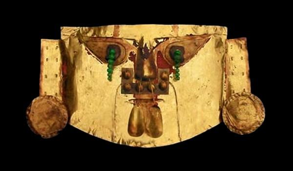 Máscara Funeraria de Oro