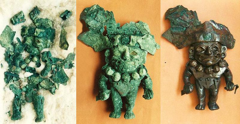 Ya son dos mil las piezas restauradas en laboratorio del museo Sipán, Lambayeque, Perú