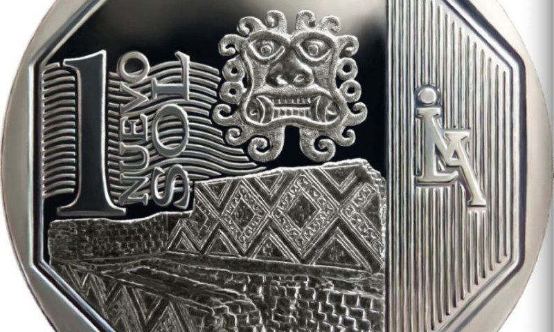 Peru honors Temple of the Moon in new one sol coin