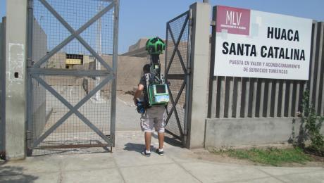 Registran monumentos arqueológicos del Perú para Google Street View