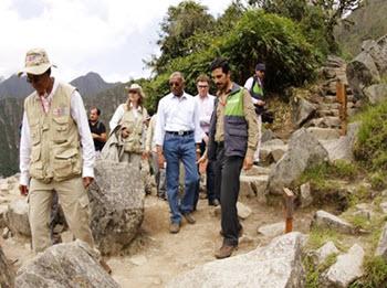 """Kishore Raon, Director de UNESCO:""""Estoy impresionado por la belleza de Machu Picchu"""""""