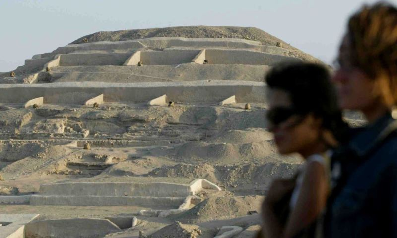 Nazca Cahuachi complex welcomes around 150 visitors every day