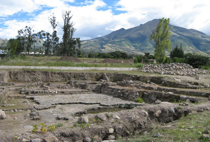 The Water Temple of Inca-Caranqui