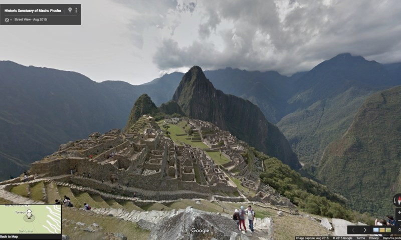 Belleza de Machupicchu podrá ser vista a través de Google Street View