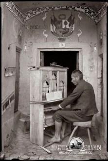 Los musicos de Martin Chambi Organillero de Tinta