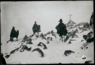 Retratos de campo Martin Chambi Jinetes en la nieve