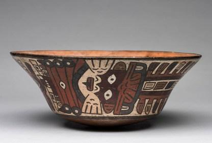 Plato Plato de cerámica de la cultura nazca (200 a.C.-650 d.C.). Foto: Museo de Arte de Lima. Donación Memoria Prado