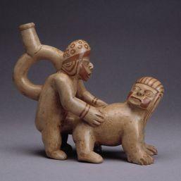 Los moches representaban la eyaculación como una alegoría de las semillas fértiles.