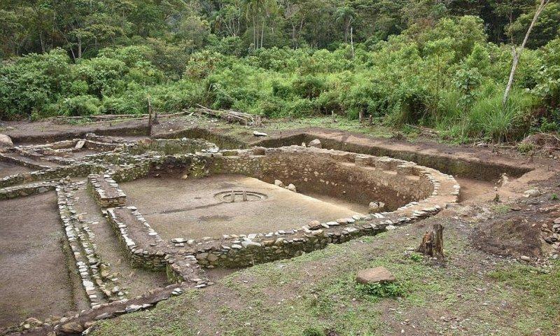 Hallazgos en sitio arqueológico de Espiritupampa, Cusco