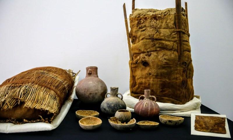 Hallan evidencia de rico comercio inca en Mateo Salado