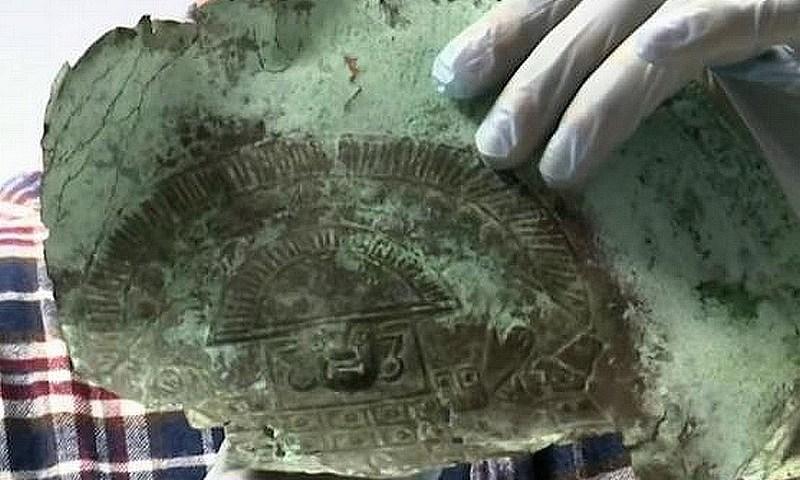 Hallan parte de una máscara precolombina entre posibles restos de galeón español hundido en Florida, EE.UU.