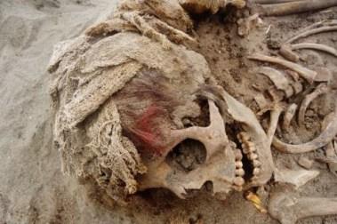 Arqueólogos investigan por qué los Chimú sacrificaron niños, el bien más preciado de la sociedad.