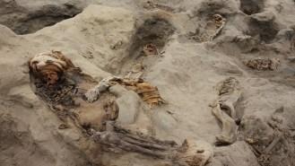 Cultura Chimú en Huanchaco: Hallan 250 niños y 40 guerreros sacrificados