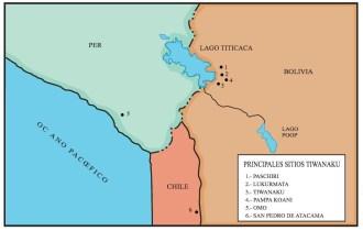 pricipales sitios tiwanacu